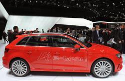 Audi A3 e-tron side view