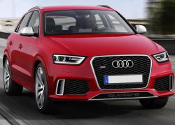 Audi Q3 2013 red color
