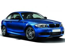 BMW 135is Coupe 2013 blue color
