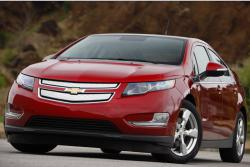 Chevrolet Volt 2011 red color