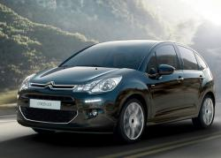 Citroen C3 2013 black color