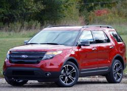 Ford Explorer Sport 2013 red color
