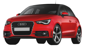 Audi A1 Sportback / Hatchback / 5 doors / 2012-2012 / Front-left view