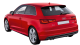 Audi A3 / Hatchback / 3 doors / 2012-2012 / Back-left view