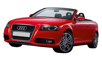 Audi A3 Cabriolet / Convertible / 2 doors / 2008-2012 / Front-left view