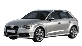 Audi A3 Sportback / Hatchback / 5 doors / 2004-2013 / Front-left view