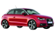 Audi A1 / Hatchback / 3 doors / 2010-2012 / Front-right view