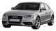 Audi A4 / Sedan / 4 doors / 2012-2012 / Front-left view