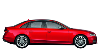 Audi A4 / Sedan / 4 doors / 2012-2013 / Right view