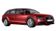 Audi A4 Avant / Wagon / 5 doors / 2008-2012 / Front-right view