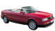 Audi Cabriolet / Convertible / 2 doors / 1991-2000 / Front-right view