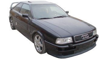 Audi Coupe / Sedan / 2 doors / 1980-1996 / Front-right view