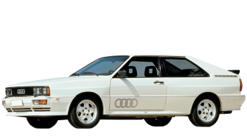Audi Quattro / Coupe / 2 doors / 1980-1991 / Front-left view