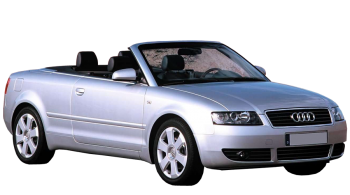 Audi A4 Cabriolet / Convertible / 2 doors / 2002-2008 / Front-right view