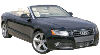 Audi A5 Cabriolet / Convertible / 2 doors / 2009-2013 / Front-right view