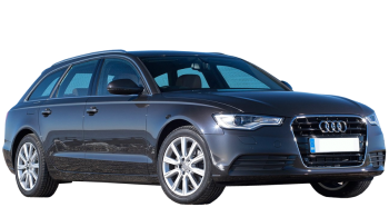 Audi A6 Avant / Wagon / 5 doors / 2010-2013 / Front-right view