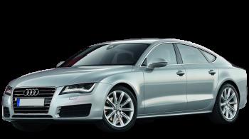 Audi A7 Sportback / Hatchback / 5 doors / 2010-2013 / Front-left view