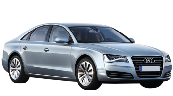 Audi A8 / Sedan / 4 doors / 2009-2013 / Front-right view