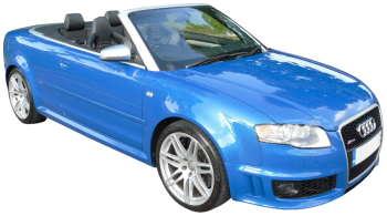 Audi RS4 Cabriolet / Convertible / 2 doors / 2006-2008 / Front-right view