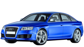 Audi RS6 / Sedan / 4 doors / 2008-2010 / Front-left view