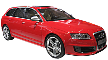 Audi RS6 Avant / Wagon / 5 doors / 2008-2010 / Front-right view