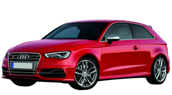 Audi S3 / Hatchback / 3 doors / 2012-2013 / Front-left view