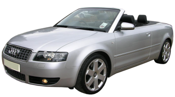 Audi S4 Cabriolet / Convertible / 2 doors / 2004-2008 / Front-left view