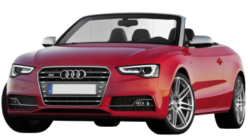 Audi S5 Cabriolet / Convertible / 2 doors / 2009-2013 / Front-left view