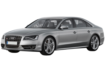 Audi S8 / Sedan / 4 doors / 2009-2013 / Front-left view