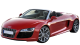 Audi R8 Spyder / Convertible / 2 doors / 2010-2013 / Front-left view
