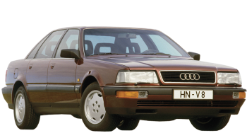 Audi V8 / Sedan / 4 doors / 1989-1994 / Front-right view