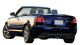 Audi A4 Cabriolet / Convertible / 2 doors / 2002-2008 / Back-left view