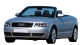 Audi A4 Cabriolet / Convertible / 2 doors / 2002-2008 / Front-left view