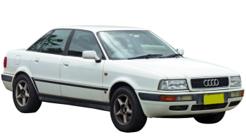 Audi 80 / Sedan / 4 doors / 1991-1995 / Front-right view