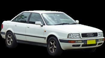 Audi 80 / Sedan / 4 doors / 1991-1995 / Front-right view
