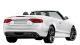 Audi A5 Cabriolet / Convertible / 2 doors / 2009-2013 / Back-right view