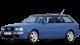 Audi 80 Avant / Wagon / 5 doors / 1992-1995 / Front-left view