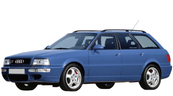 Audi 80 Avant / Wagon / 5 doors / 1992-1995 / Front-left view
