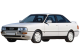 Audi 90 / Sedan / 4 doors / 1984-1991 / Front-left view