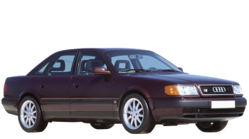 Audi 100 / Sedan / 4 doors / 1991-1994 / Front-right view