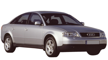 Audi A6 / Sedan / 4 doors / 1997-2004 / Front-right view