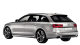 Audi A6 Avant / Wagon / 5 doors / 1994-2013 / Back-left view