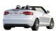 Audi RS4 Cabriolet / Convertible / 2 doors / 2006-2008 / Back-right view