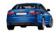Audi RS6 / Sedan / 4 doors / 2002-2010 / Back-right view