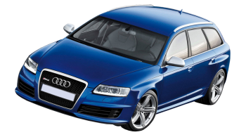 Audi RS6 Avant / Wagon / 5 doors / 2002-2010 / Front-left view