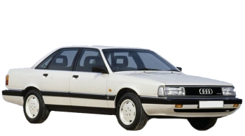 Audi 200 / Sedan / 4 doors / 1980-1991 / Front-right view