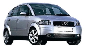 Audi A2 / Minivan / 5 doors / 2000-2005 / Front-right view