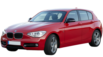 BMW 1-series / Hatchback / 5 doors / 2011-2012 / Front-left view
