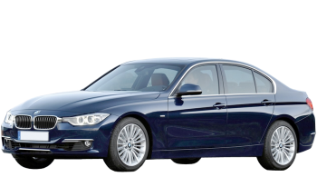 BMW 3-series / Sedan / 4 doors / 2012-2012 / Front-left view