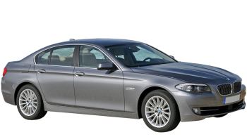 BMW 5-series / Sedan / 4 doors / 2010-2012 / Front-right view